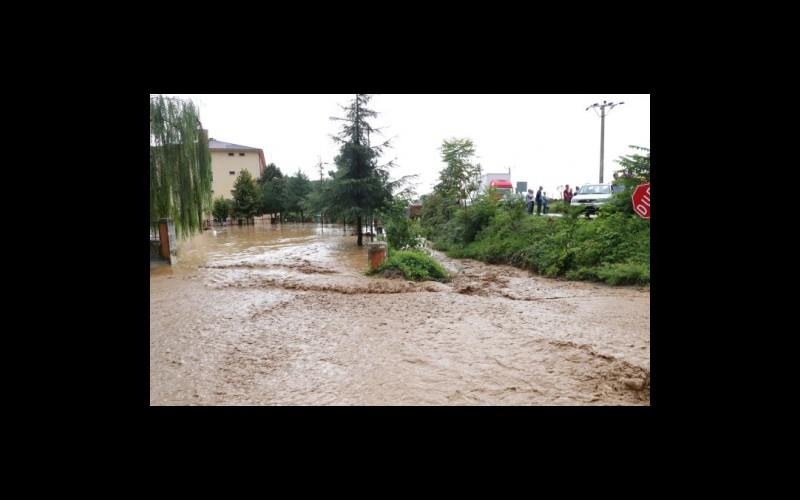 01 Eylül 2016 günü Arhavi sel ve Taşkın görüntüleri.